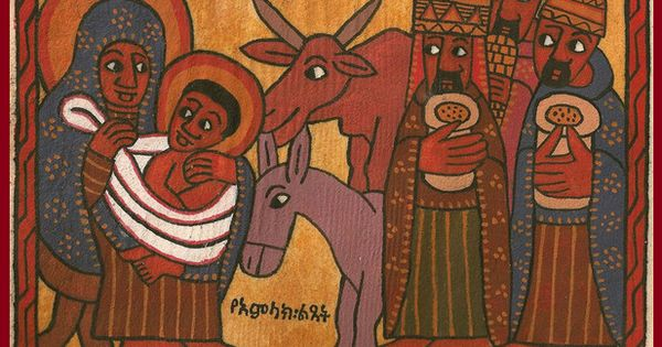 Ethiopian icon Check out myOCN.net, the largest Orthodox ... X And Check Icon
