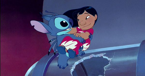 Lilo and Stitch coloring pages on Coloring