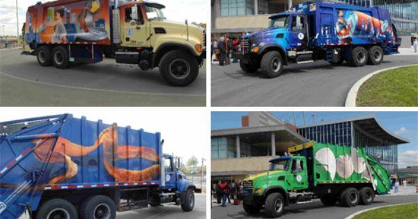 City Of Yonkers Art Garbage Trucks 2 Garbage Truck Trucks Garbage