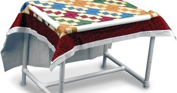 Dritz quilting floor quilt frame craft hand quilting for Floor quilt frame