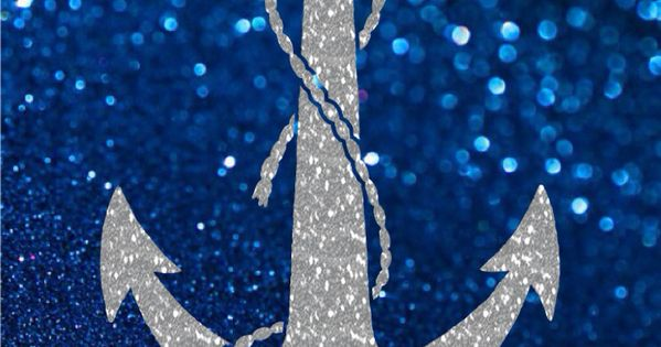 IPhone 5 Wallpaper, Blue Glitter, Sliver Anchor! Http