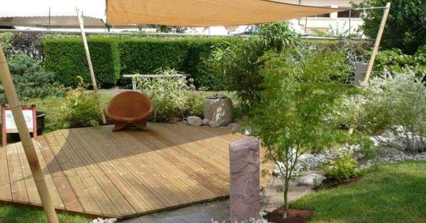 garten terrasse holz anlegen   nowaday garden, garten und bauen, Garten und Bauten