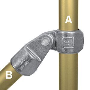 Lc50 Kee Lite Single Swivel Socket Jpg Swivel Socket Swivel Aluminum Handrail