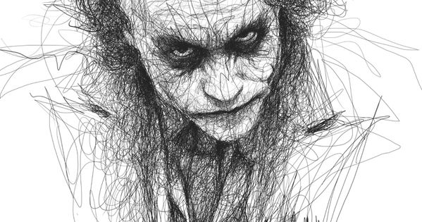 14-Heath-Ledger-The-Joker-Batman-Vince-Low-Scribble ...