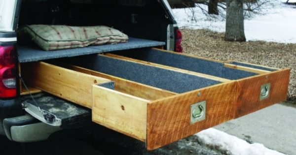 Trout bum truck drawers truck bed camping pinterest bed drawers trucks and drawers - Homemade truck bed drawers ...