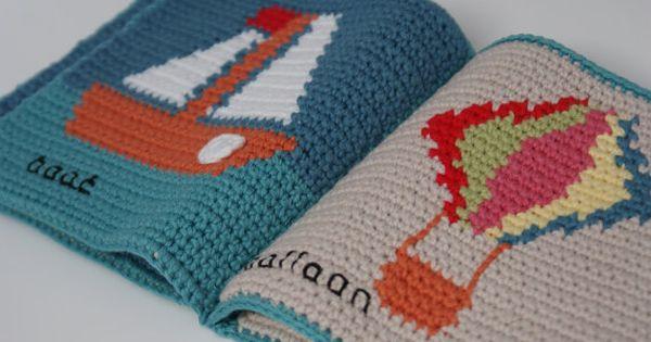 Crochet Quiet Book : ... Book/Quiet Book/PDF Crochet Pattern/Learning Book Crochet Pattern Our