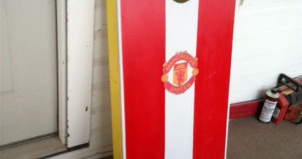 Manchester united cornhole boards completed projects Simplisafe z wave