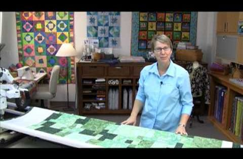 Quilting With Qbot Keeping The Quilt Straight Basting