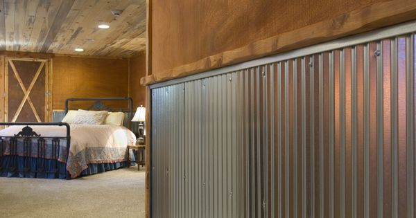 Corrugated Metal For Interior Walls Wainscot 1 1 4