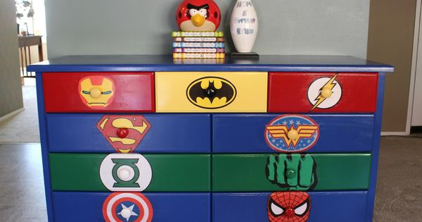 Superhero Dresser Commission