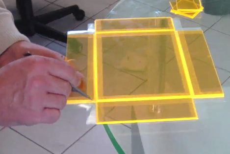 Hinge Technique Acrylic Box Construction Make Acrylic Box Tap Plastics Plastic Welding
