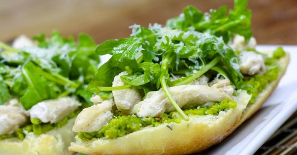 Sandwiches with Green Pea Spread- incredibly good and incredibly easy ...