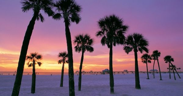 Clearwater Florida sunset. One of my favorites places in FL. Beautiful...been there...