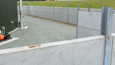 Precast Bund Walls Wall Construction Pollution