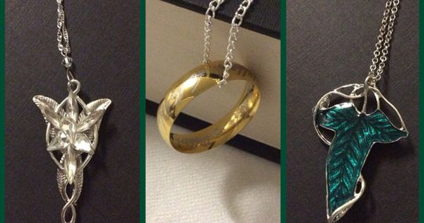 Lord of the Rings Necklaces ~ Hmm.... Out of all of them