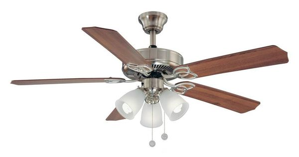 Brookhurst 52 In Indoor Brushed Nickel Ceiling Fan Yg268