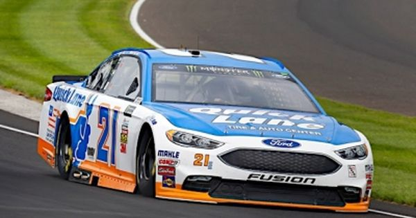 Blaney Puts Quick Lane Ford Fusion Among The Top 10 In Indy