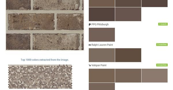Spanish moss augusta collection residential brick boral olympic behr ppg paints ralph - Breathable exterior masonry paint collection ...