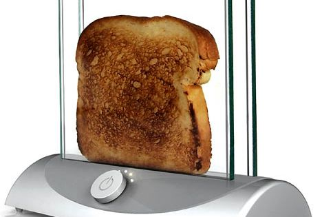 Clear Toaster - Cause I know you can't get enough of kitchen