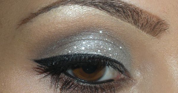 Silver Glitter and Taupe