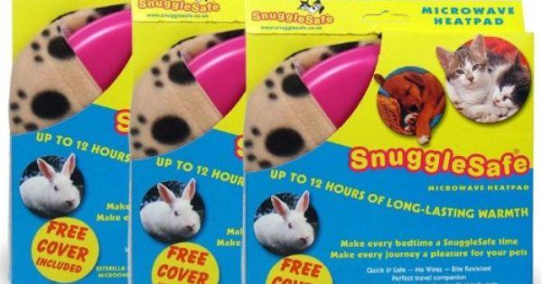 3 Pack Snugglesafe Microwave Heat Pad Snuggle Safe Pet Heating Pad Dog Furniture Heating Pad