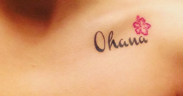 March 2nd tattoo. Ohana means family and family means no ...