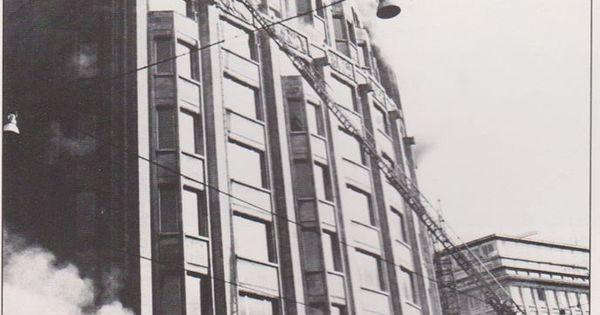 Brand in den boerentoren 1976 antwerpen pinterest for Interior design kiel