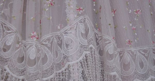 Curtains Victorian Style Victorian Lace Shower
