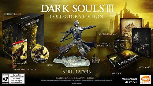 Dark Souls Iii Collectors Edition Playstation 4 Click Image To