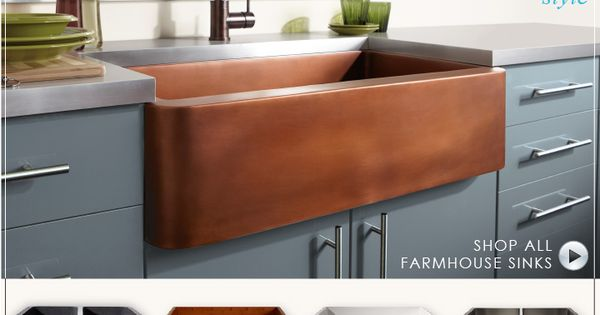 I want a double farmhouse sink. Love the white or bamboo.