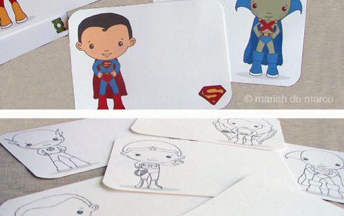 superhero printable coloring pages {free} printable