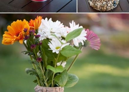 Cool DIY Projects! Turn trash into treasure with this upcycled DIY rustic
