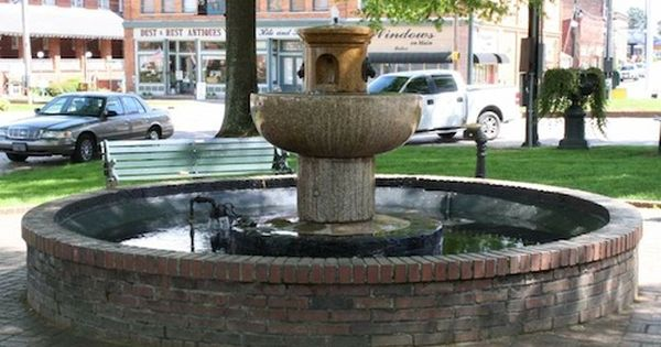 Abbeville Fountain Abbeville The Beautiful South Abbeville County