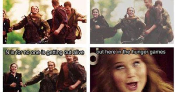 funny jokes about the hunger games from we just saw