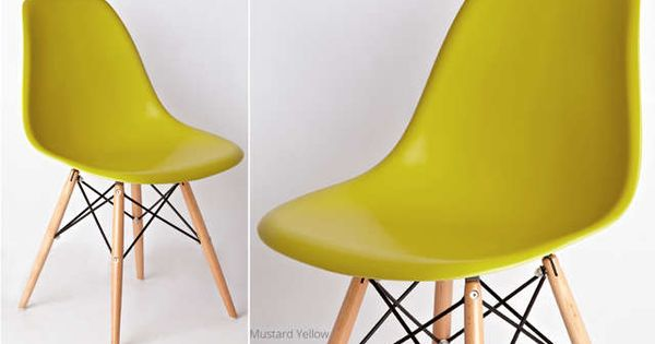 Yellow Eames Dining Chairs UK 16349 each mustard yellow  : 592221a255c475cd6006c9a335b54965 from www.pinterest.com size 600 x 315 jpeg 20kB