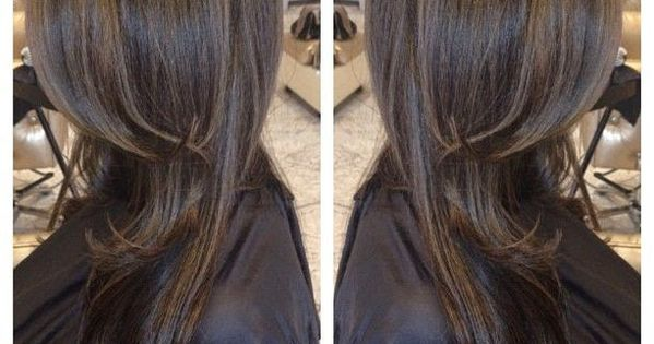 12 Flattering Dark Brown Hair with Caramel Highlights ...