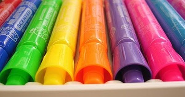 90s kids: Who remembers the smelly markers?>>>>> Oh, sure. Finding them in