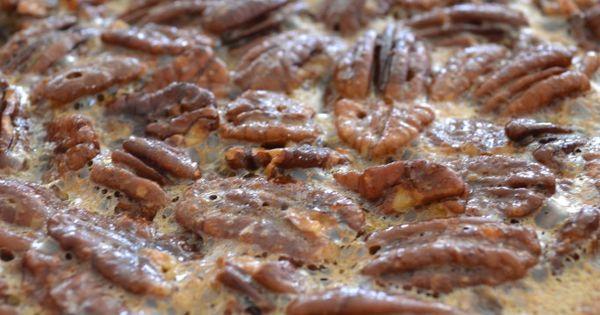 gluten free sugar free (can be vegan) pecan pie