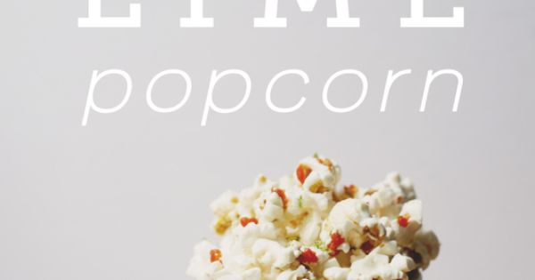 Sriracha Popcorn popcorn Butter Sriracha Lime Zest Sea Salt Pop corn according