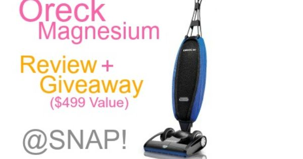 how to clean oreck magnesium