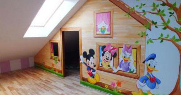 Artystyczne Malowanie Scian Malowanie Pokoi Dzieciecych W Bajki Dekoracyjne Malowanie Wnetrz Malowidla Scienne Rybnik Toddler Bed Decor Home Decor