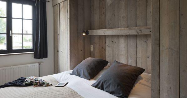 Slaapkamer met hout vakantiehuis voor 12 tot 14 personen in knokke zalig aan zee pinterest - Slaapkamer hout ...