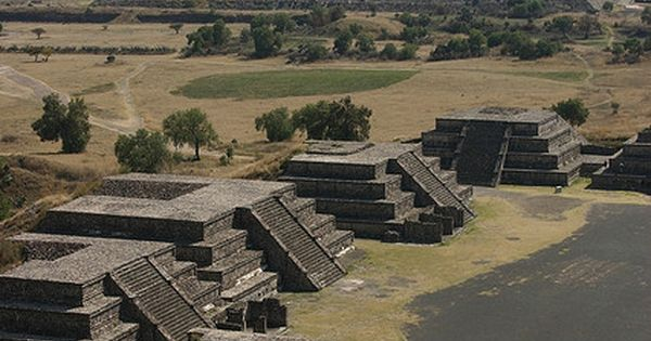✯ Pyramid of the Sun - Teotihuacan, Mexico. Pyramid of the Moon