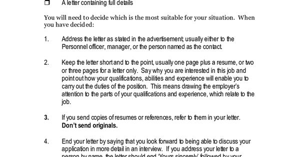 Example Of Application Letter For Job Vacancy Example Of Application Letter For…