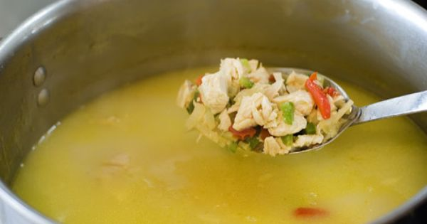 Simple, Hearty, Chicken and Rice Soup | Recipe | Vegetables, Celery ...