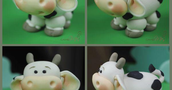 Cow Wedding Cake Toppers Uk