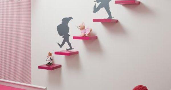 Woonmagazine plak de sticker pinterest prinsessenkamer kinderkamer en droomhuizen - Roze meid slaapkamer ...