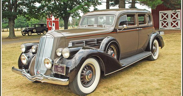 1937 Pierce Arrow 7 Passenger Sedan Cool Old Cars Old American