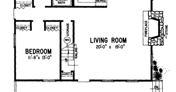Mother in law suite small space floor plans pinterest for Mother in law log cabin