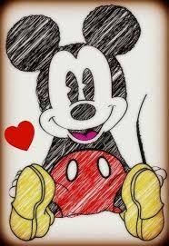 Resultado De Imagen Para Dibujos De Ubicuo A Lapiz De Amor Mickey Mouse Sketch Mouse Sketch Mickey Mouse